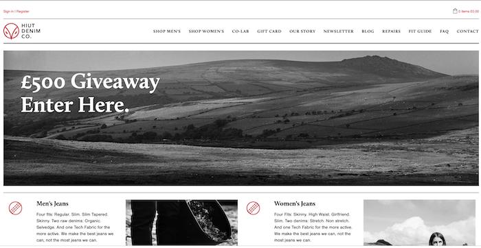 Hiut의 웹사이트