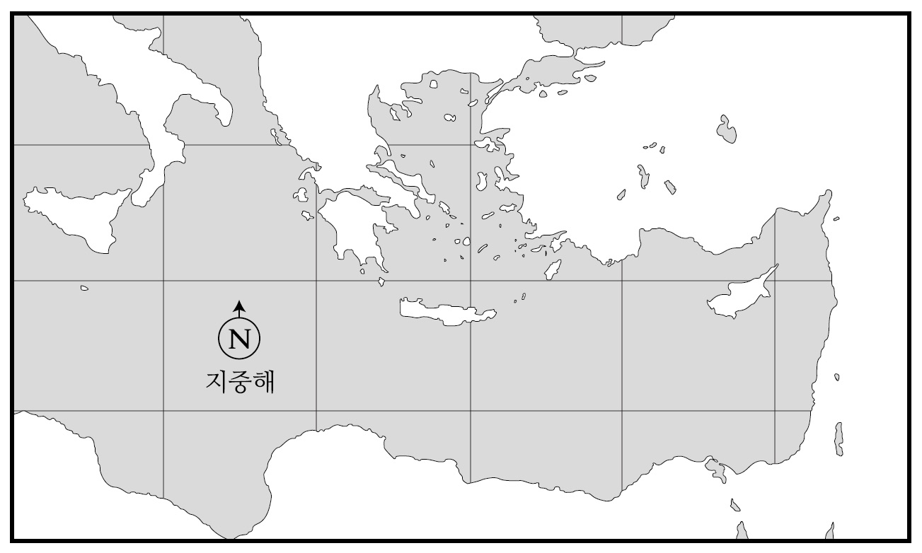 소아시아 Pre-Map (바울의 전도여행용)