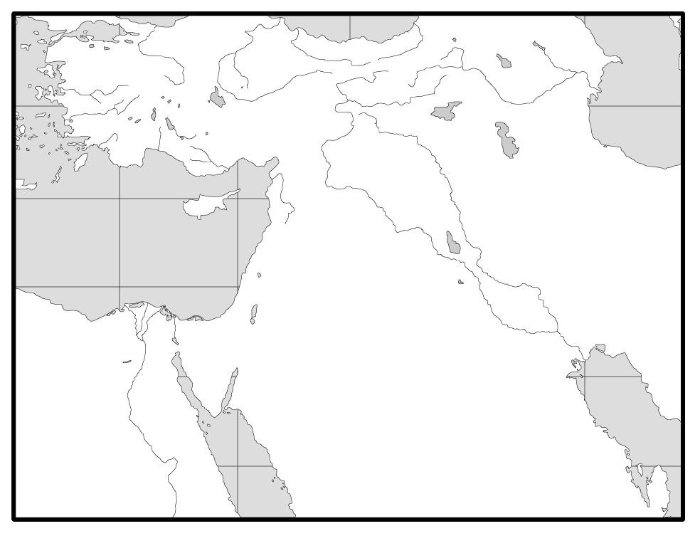 바빌론-앗시리아 지역 Pre-Map