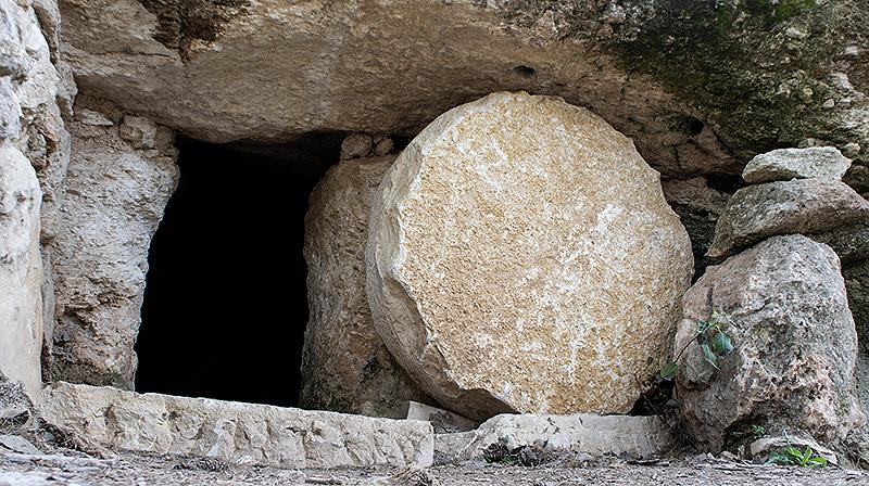 부활절-열린 무덤