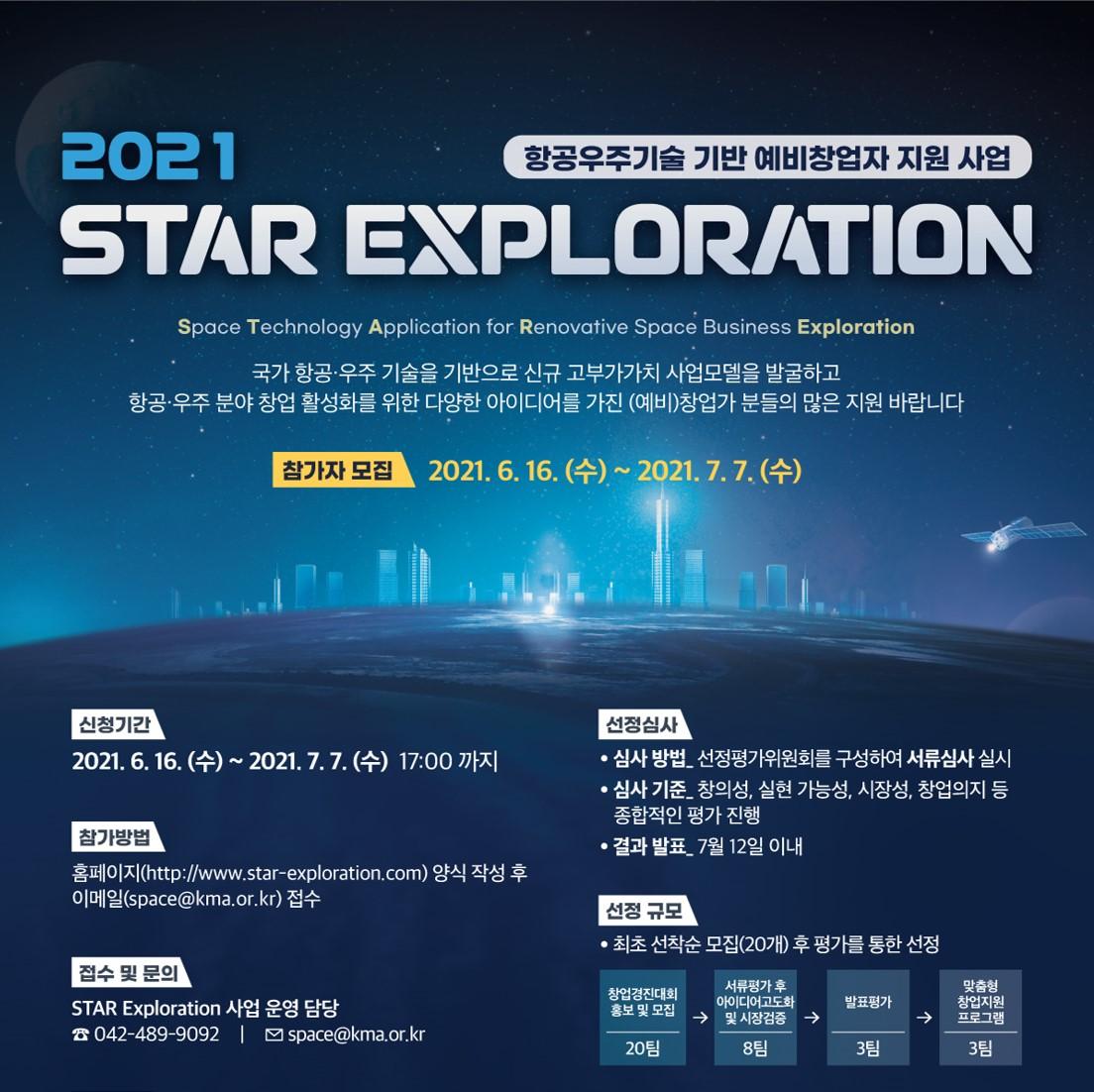 항공우주기술 기반 예비창업자 지원 사업(STAR exploration)