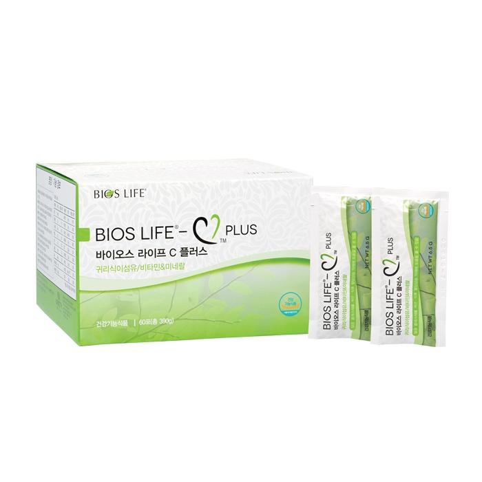 바이오스 라이프 C 플러스 귀리식이섬유/비타민&미네랄