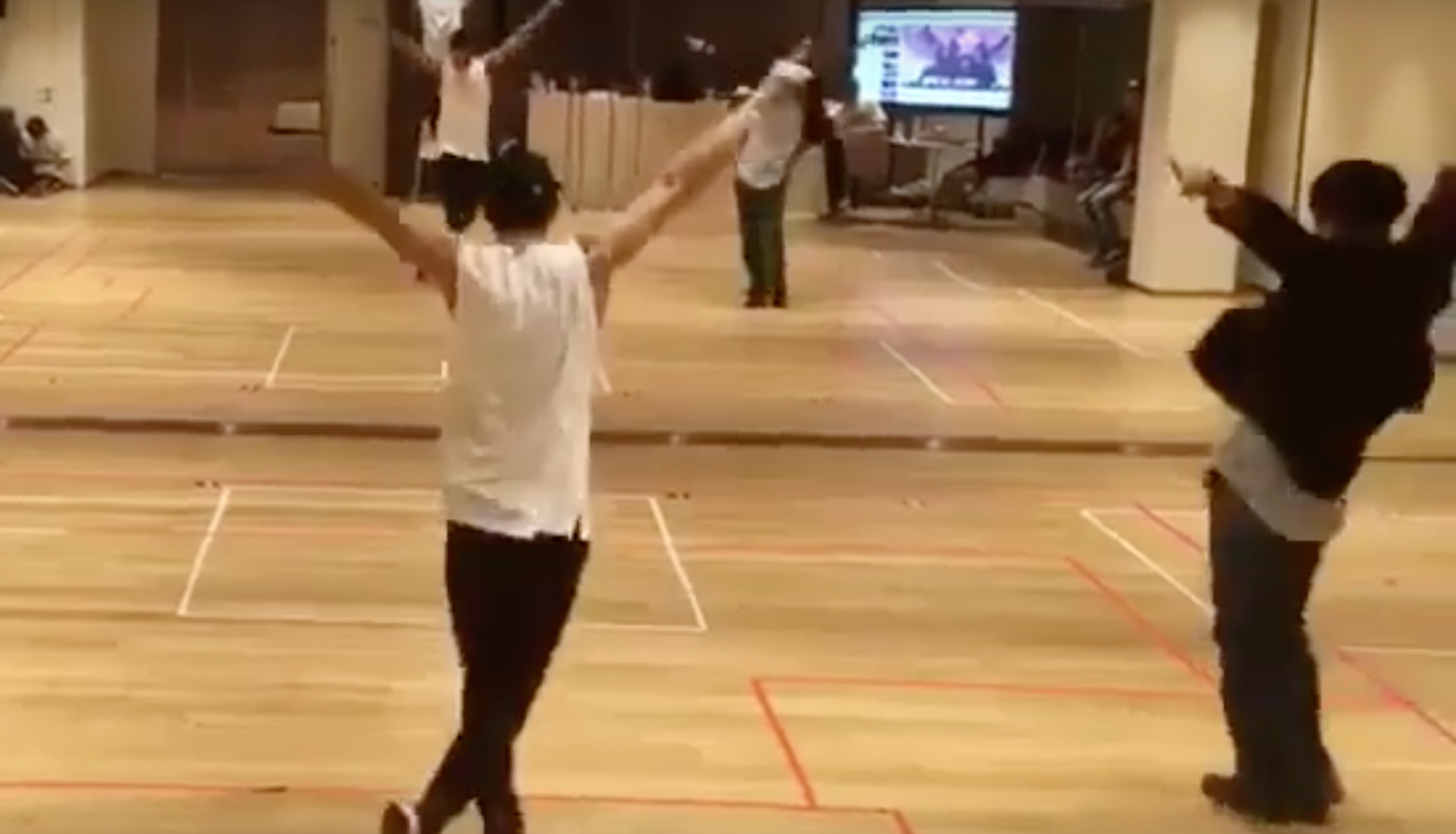 A Recent Reveal of a Past Dance Practice Video Showed How Amazing of