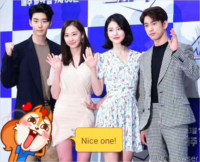 Press conference of he is psychometric
