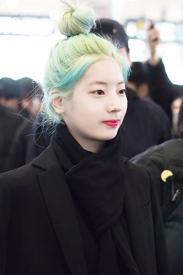 TWICE Dahyun\'s New Hair Color