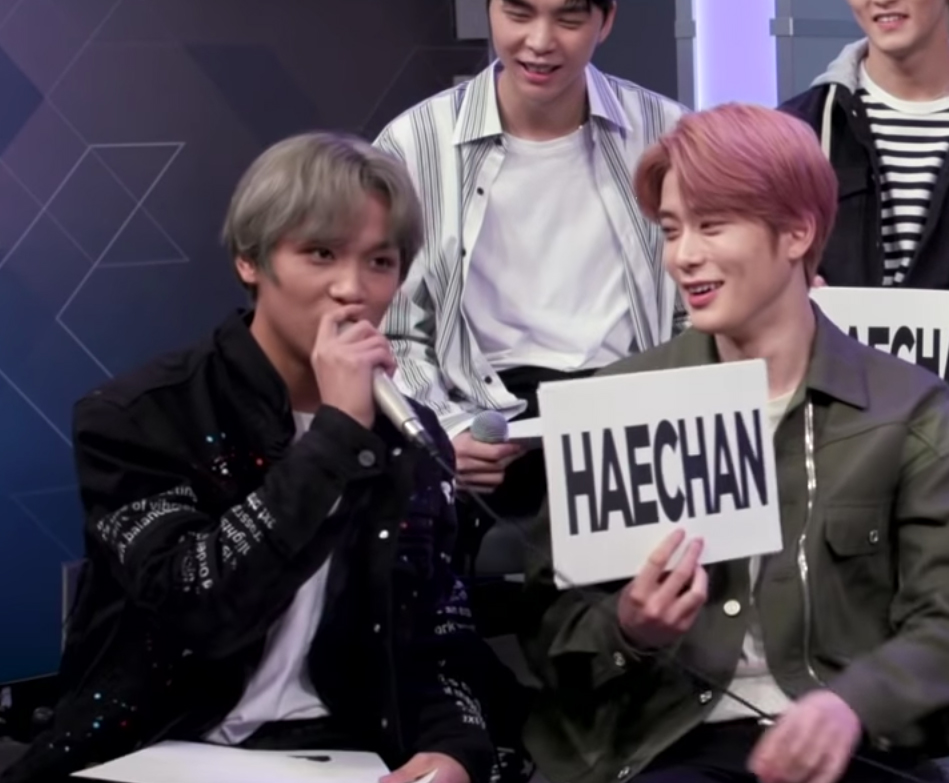 NCT 127 Members All Chose Haechan the Member who is a Night