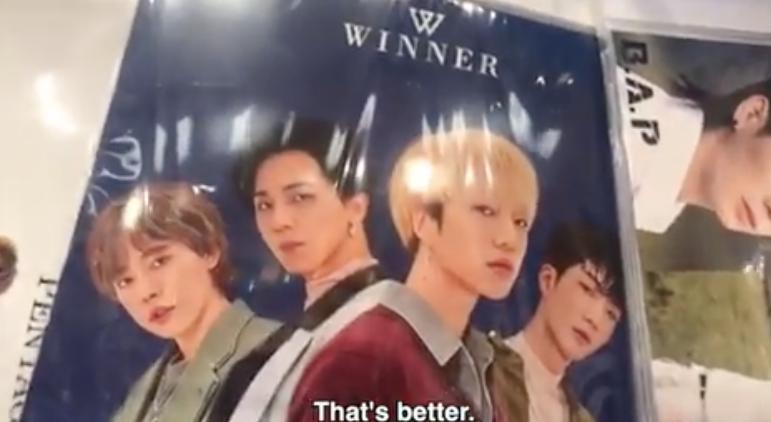 Epik High's Tablo Saw WINNER's Merchandise in a KPOP Store