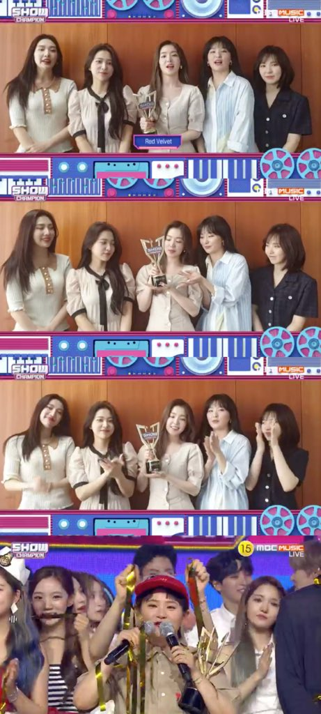 Congratulations to Red Velvet for winning #1 on Show