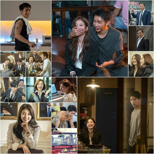 "[K-Drama]: Lee Seung Gi and Suzy Brighten The Set Of ""Vagabond"" With Their Smiles"