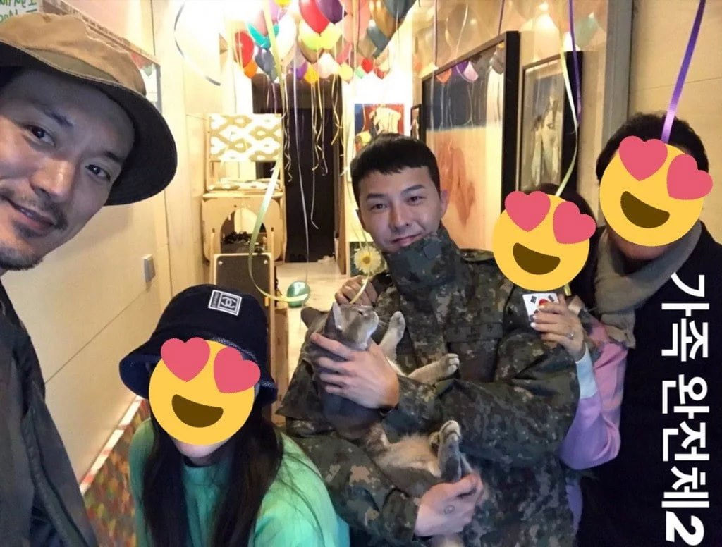 [K-Star]: G-Dragon was Spotted Having a Homecoming Party with Family and Friends