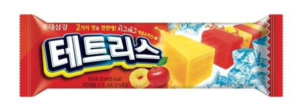 롯데푸드_6월호 그룹사보(테트리스바-신제품)