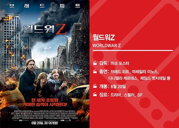 월드워Z 영화 정보