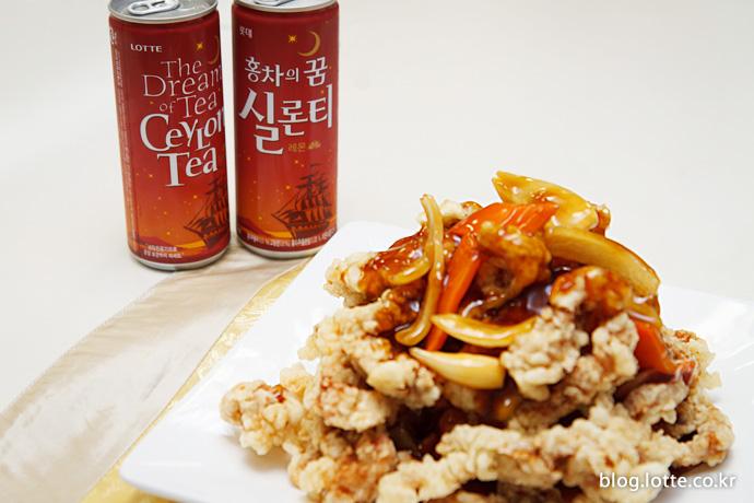 중국 음식과 실론티의 궁합은?