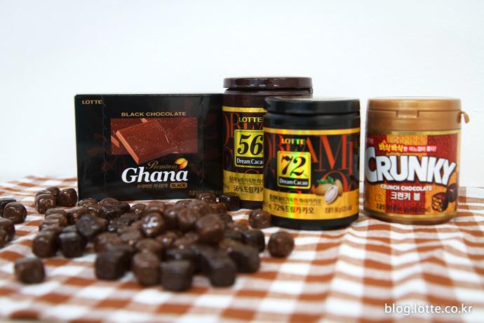집중력을 높여주는 드림카카오 초콜릿