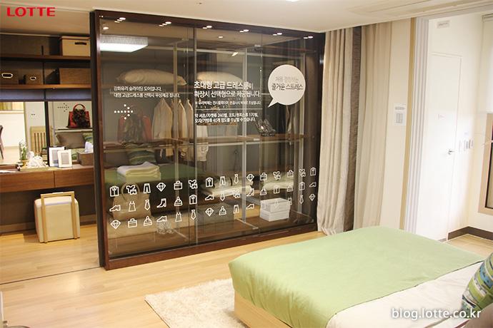 가변형 벽채로 다양한 공간활용이 가능한 롯데건설 '라이프스타일링룸'과 '마스터룸 1.5'