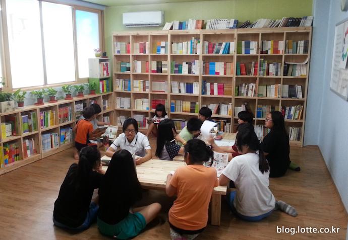 도서관 및 사랑방으로 이용될 작은도서관