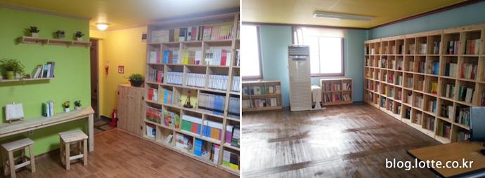 전국 곳곳에 마련한 작은도서관 시설