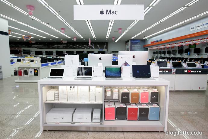 롯데하이마트 매장에 애플 공식 입점