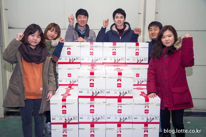 자원봉사자 단체사진