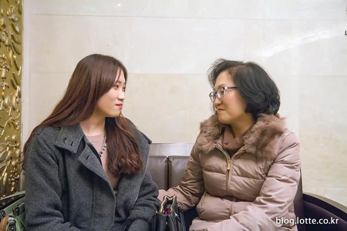 서로의 미래를 응원하는 엄마와 딸