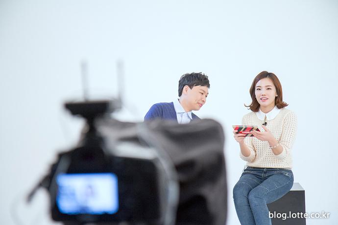 소셜팬 서영롱 씨에게 조언을 아끼지 않는 개그맨 이상준