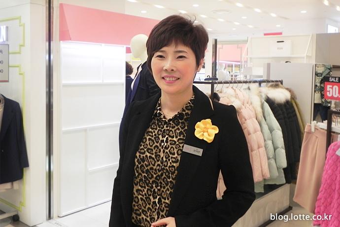 롯데아울렛 첫 여성점장 한지연 점장 4