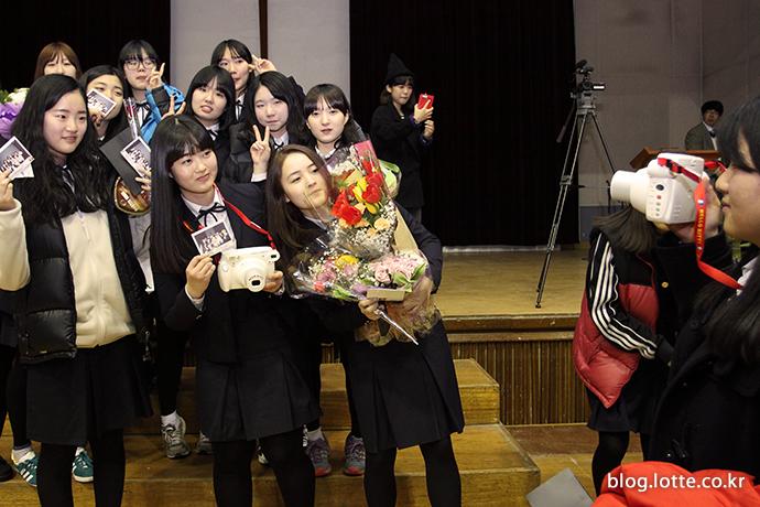 한국후지필름, 이천양정여고 졸업식 지원