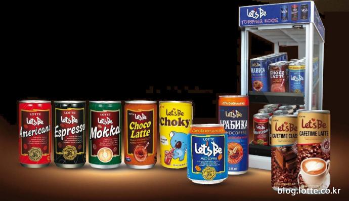 러시아 국민 캔커피로 급부상한 롯데칠성음료 레쓰비