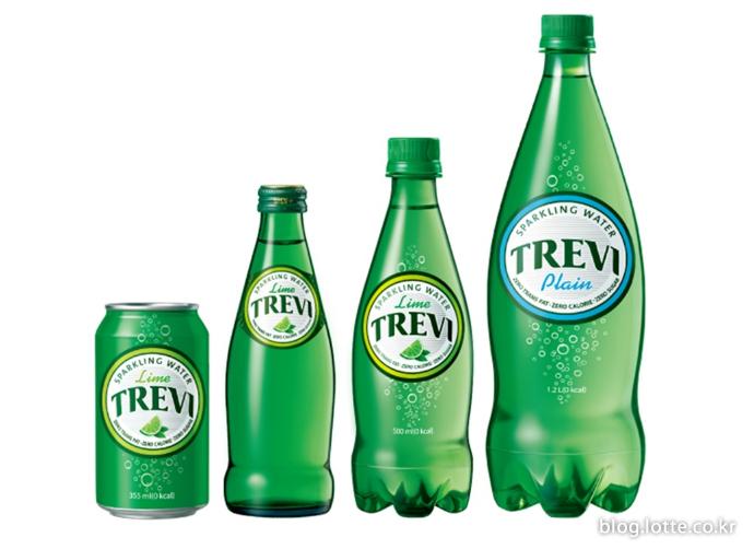 롯데칠성음료, 탄산수 트레비 1.2L 패키지 출시