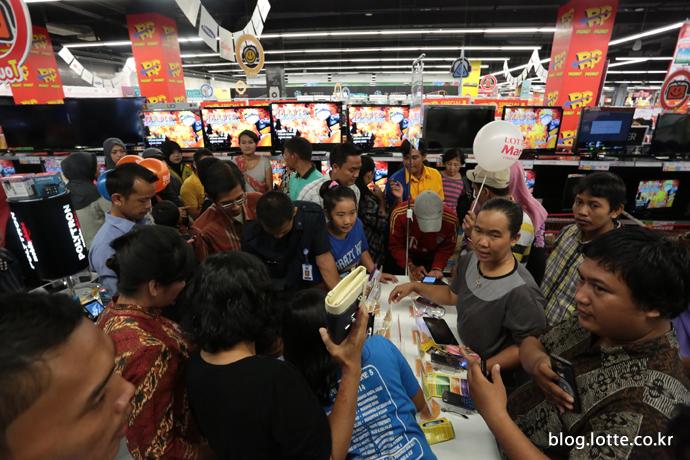 롯데마트 인도네시아 찌모네점