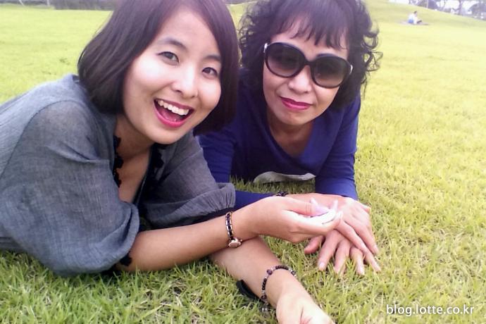 언제나 함께하는 친구 같은 모녀의 즐거운 여행