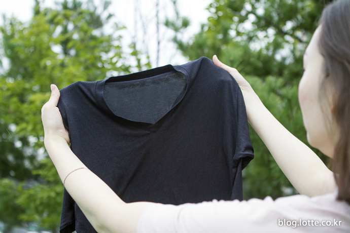 김빠진 클라우드로 색이 바랜 검은색 옷을 선명하게!