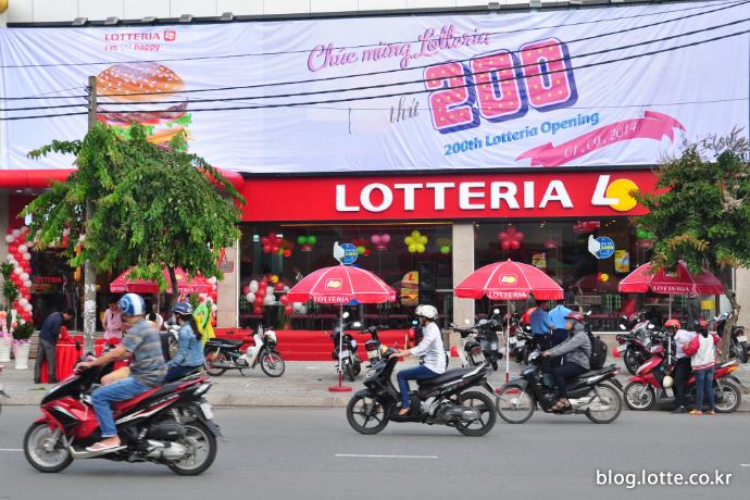 베트남 200호점 오픈 모습