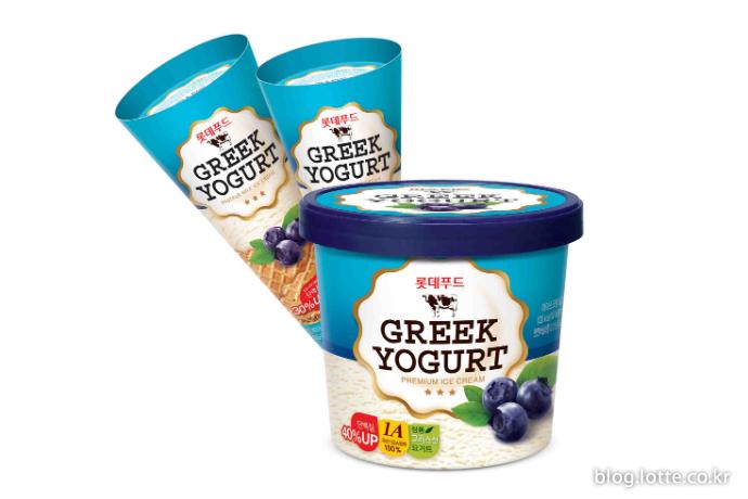 롯데푸드, 그릭요거트 아이스크림