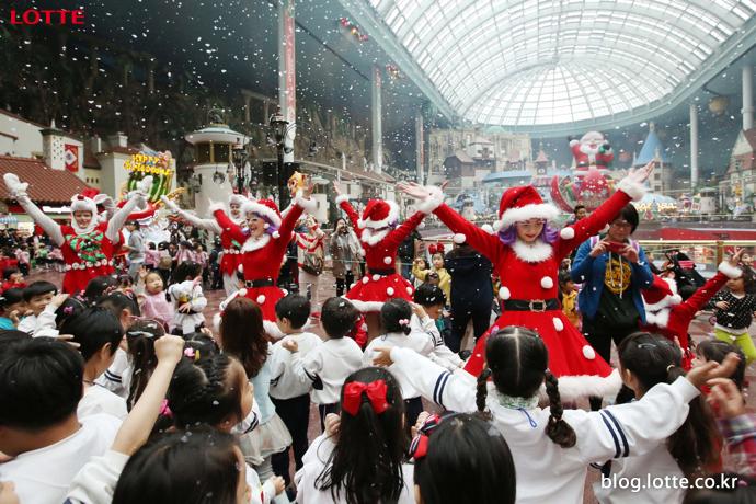 롯데월드 어드벤처 해피 크리스마스 축제