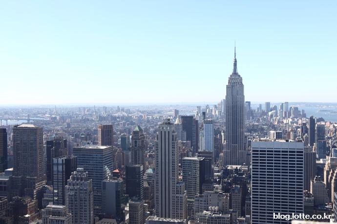 엠파이어스테이트 빌딩과 뉴욕 전경