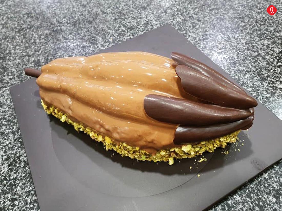 특별한 크리스마스 케이크 길리안카페 초콜릿 케이크