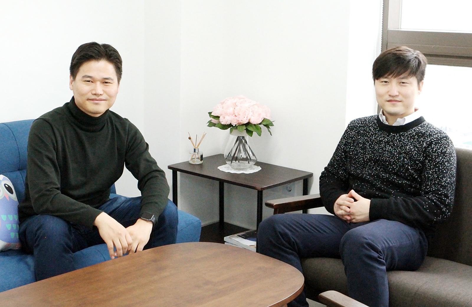 (왼쪽부터) 남상협 공동대표, 김성국 공동대표