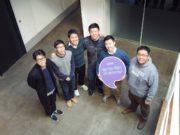 (왼쪽부터) 첫 번째 이항노 수석 디자이너, 네 번째 김여신 CTO, 다섯 번째 이상희 성장총괄, 여섯 번째 전윤호 영업총괄. (왼쪽에서 세 번째, 두 번째) 정주용, 이동주