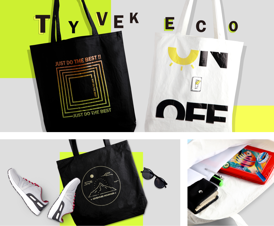 Waterproof Tyvek Eco Bag