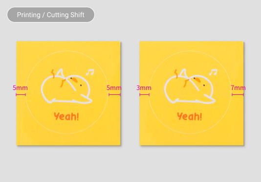 Printing / Cutting Shift