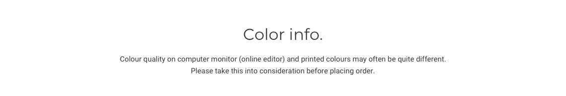 Color info