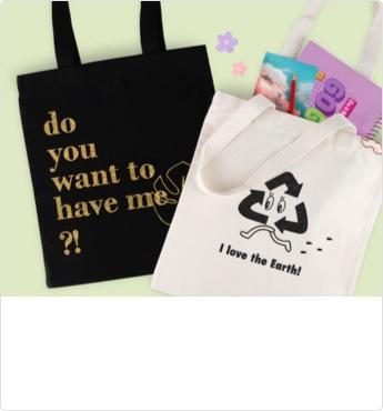 Eco Bag - Glitter