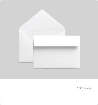컬러 사각/초대장 봉투