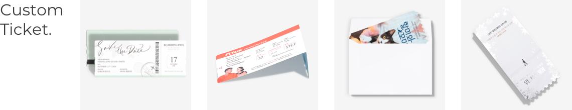 custom Ticket.