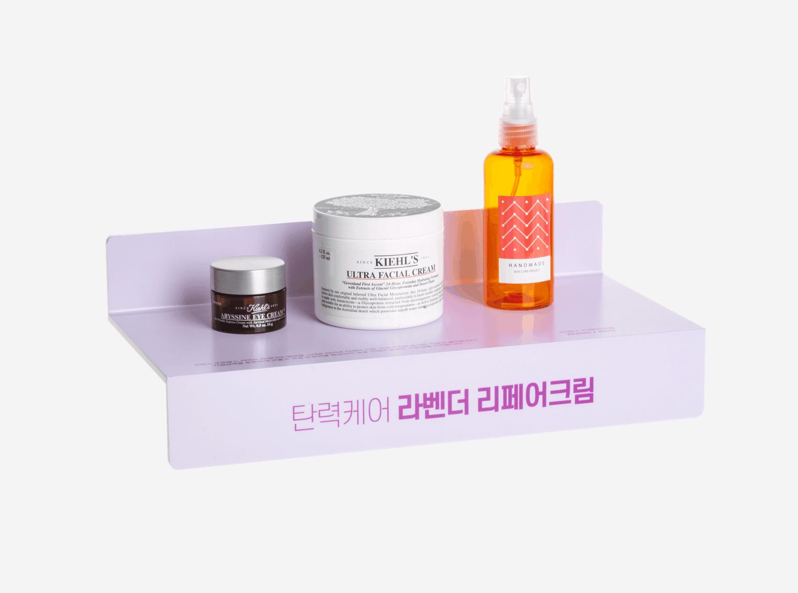 제품 전시대_선반형-롤링배너 슬라이드2