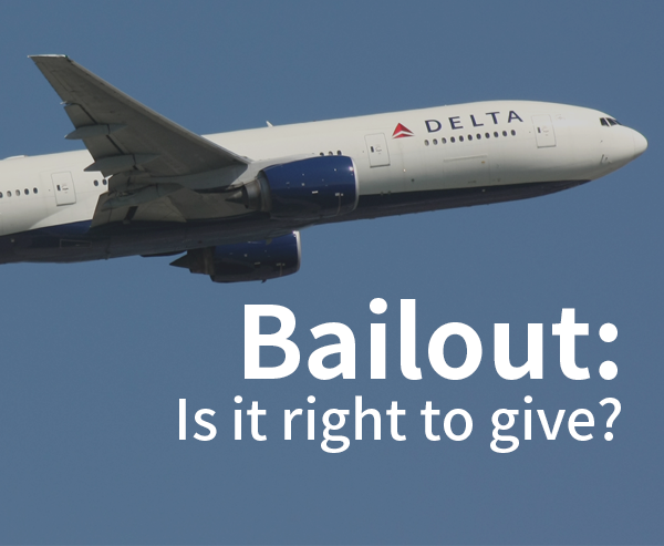 Bailout: Is it right to give? (Part 3)
