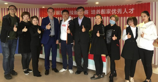 Hubei Hairdressing Association and Provincial Committee Member Xiao Qingshan