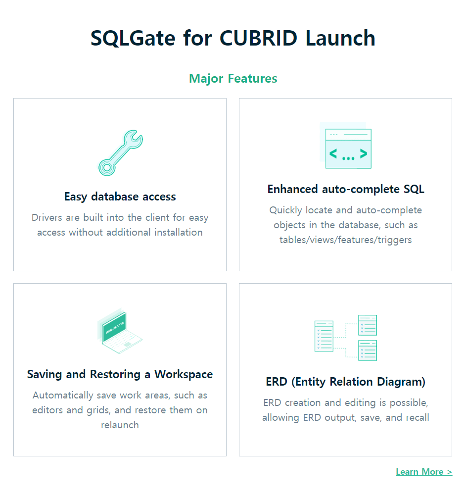 First release of SQLGate for CUBRID_en