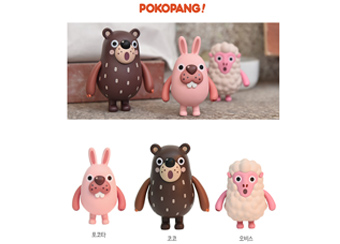 '포코팡' 오리지널 캐릭터 상품, 온라인 판매 개시